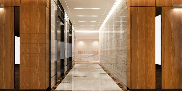 Commercial Lighting - Hotel Elevators - JAH Electrical