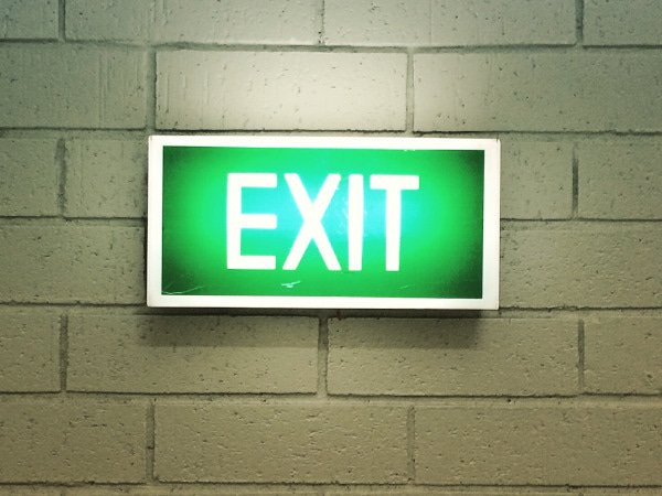 Emergency Lighting - Emergency Exit Sign - JAH Electrical Services