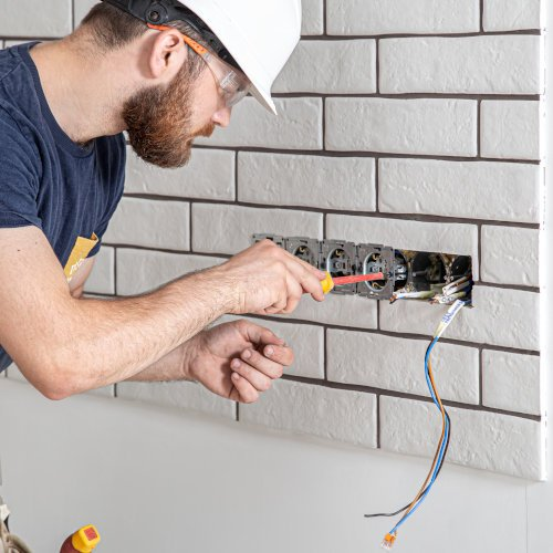 Domestic Electricians - Sockets Switches - JAH Electrical Services