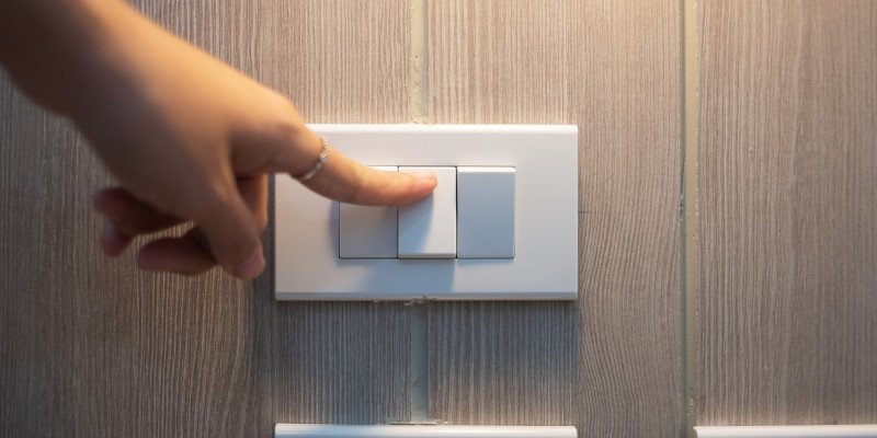 Electrical Inspections for Landlords - Light Switches - JAH Electrical Services