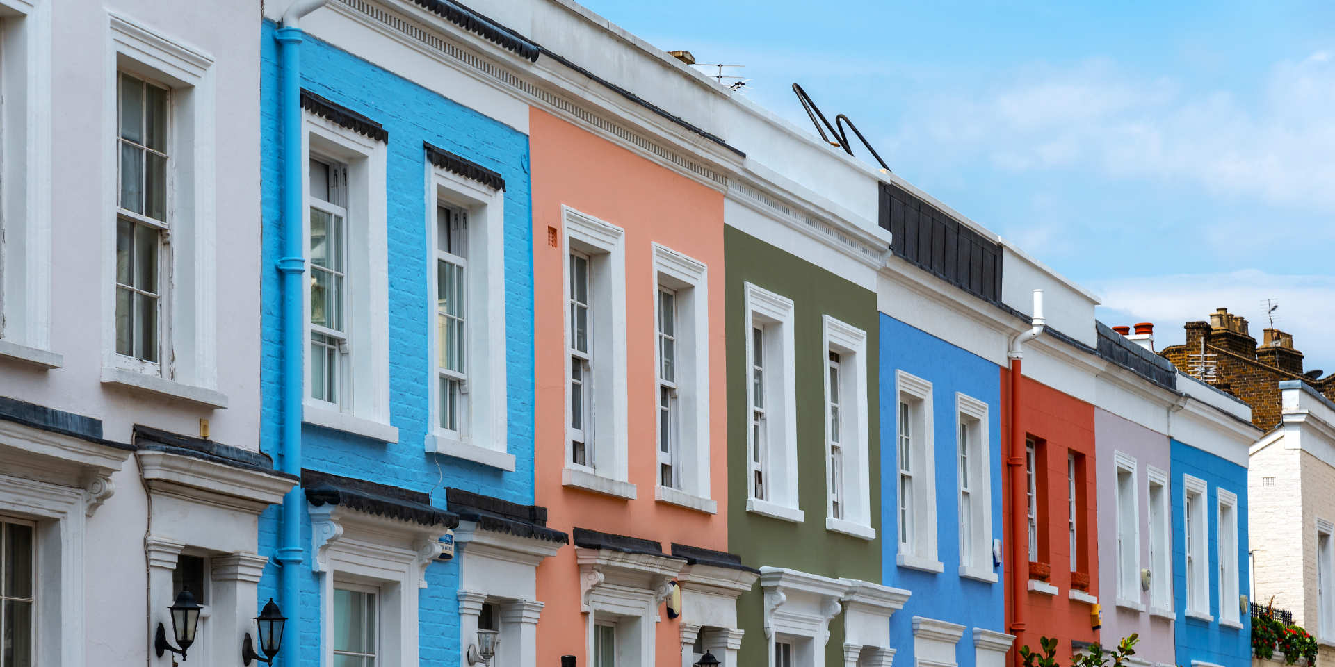 Electrical Inspections for Landlords - Row of Houses - JAH Electrical Services