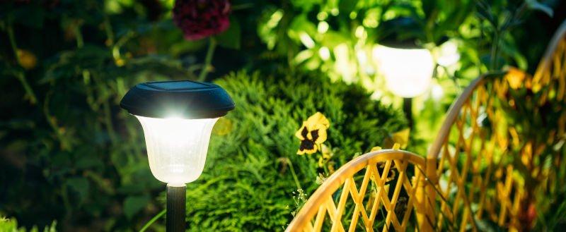 Garden Lighting - Garden Path Lights - JAH Electrical Services
