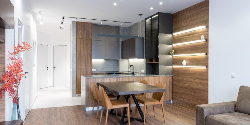 Interior Lighting - Kitchen Dining - JAH Electrical Services